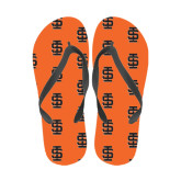 Full Color Flip Flops-Interlocking IS