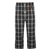 Black/Grey Flannel Pajama Pant-Bengal Head