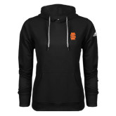 Adidas Climawarm Black Team Issue Hoodie-Interlocking IS