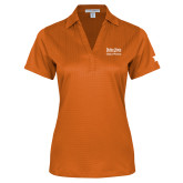 Ladies Orange Performance Fine Jacquard Polo-Idaho State University College Pharmacy