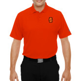 Under Armour Orange Performance Polo-Interlocking IS - Two Color