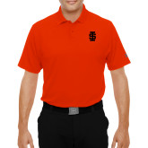 Under Armour Orange Performance Polo-Interlocking IS - One Color