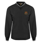 Black Executive Windshirt-Bengal Head