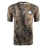 Realtree Camo T Shirt w/Pocket-Bengal Head