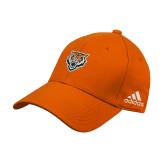 Adidas Orange Structured Adjustable Hat-Primary Athletics Mark