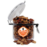 Deluxe Nut Medley Round Canister-Interlocking IS