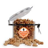 Cashew Indulgence Round Canister-Interlocking IS