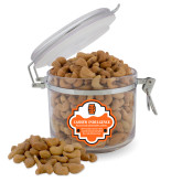 Cashew Indulgence Round Canister-Interlocking IS - Two Color