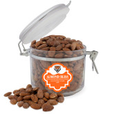Almond Bliss Round Canister-Primary Athletics Mark