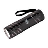 Astro Black Flashlight-Interlocking IS Engraved