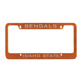 Metal Orange License Plate Frame-Bengals
