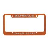 Metal Orange License Plate Frame-Bengals