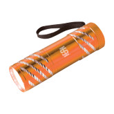 Astro Orange Flashlight-Interlocking IS Engraved