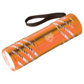 Astro Orange Flashlight-Primary Athletics Mark Engraved