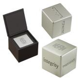 Icon Inspiration Cube-Interlocking IS Engraved