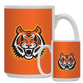 Full Color White Mug 15oz-Bengal Head