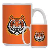 Full Color White Mug 15oz-Bengal Head