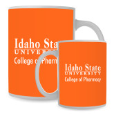 Full Color White Mug 15oz-Idaho State University College Pharmacy