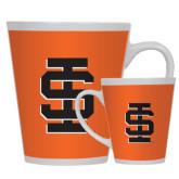 12oz Ceramic Latte Mug-Interlocking IS