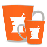 Full Color Latte Mug 12oz-Idaho State University Mortar