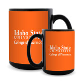 Full Color Black Mug 15oz-Idaho State University College Pharmacy