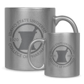 Full Color Silver Metallic Mug 11oz-Pharmacy Seal