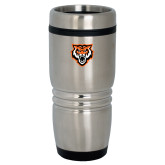 Rolling Ridges Silver Stainless Tumbler 16oz-Primary Athletics Mark