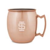 Copper Mug 16oz-Interlocking IS Engraved
