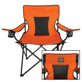 Deluxe Orange Captains Chair-Bengal Head