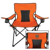 Deluxe Orange Captains Chair-Dad