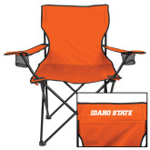 Deluxe Orange Captains Chair-Idaho State