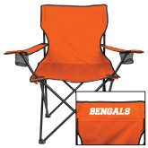 Deluxe Orange Captains Chair-Bengals