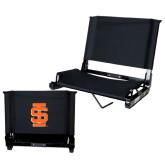 Stadium Chair Black-Interlocking IS