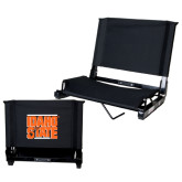Stadium Chair Black-Idaho State Block