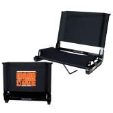 Stadium Chair Black-Idaho State Block