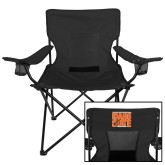 Deluxe Black Captains Chair-Idaho State Block