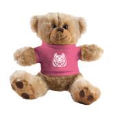 Plush Big Paw 8 1/2 inch Brown Bear w/Pink Shirt-Bengal Head
