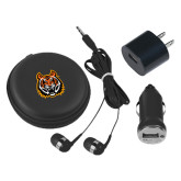 3 in 1 Black Audio Travel Kit-Bengal Head