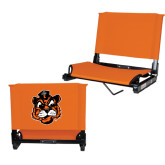 Stadium Chair Orange-Vintage Mascot Head