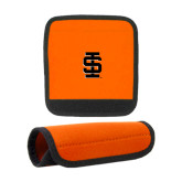 Neoprene Orange Luggage Gripper-Interlocking IS