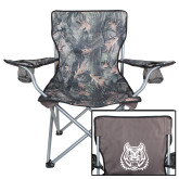 Hunt Valley Camo Captains Chair-Bengal Head