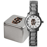 Mens Stainless Steel Fashion Watch-Interlocking IS