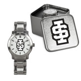 Mens Stainless Steel Fashion Watch-Interlocking IS - 2 Color