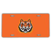 License Plate-Bengal Head