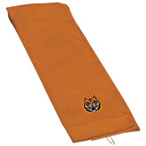 Orange Golf Towel-Bengal Head