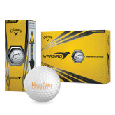Callaway Warbird Golf Balls 12/pkg-University Mark