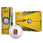 Callaway Warbird Golf Balls 12/pkg-Interlocking IS - Two Color