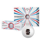 Callaway Supersoft Golf Balls 12/pkg-Interlocking IS