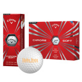 Callaway Chrome Soft Golf Balls 12/pkg-University Mark
