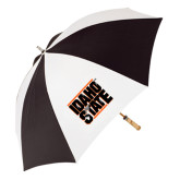 62 Inch Black/White Umbrella-Idaho State Block